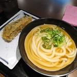 松井製麺所 - 冷かけ(小)+なす天