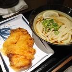 松井製麺所 - ぶっかけ(小)+ちき天