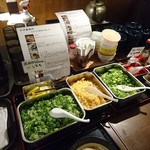 松井製麺所 - 薬味など