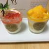 C3 - 料理写真:サマーグレープフルーツ ティラミスカップとトロピカルマンゴー ティラミスカップ('17/08/18)