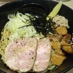 東京ラーメン いな世 - 肉盛り冷やしまぜそば(850円)