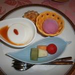 中国料理 桃華樓 - デザート