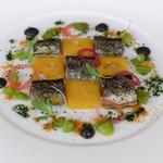 シェ・コーベ - 新秋刀魚とインカのめざめ(じゃがいも)
