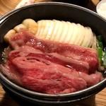 佰食屋 すき焼き専科 - 国産牛すき焼き定食