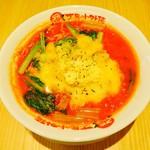 太陽のトマト麺 元住吉支店 - 太陽のチーズラーメン