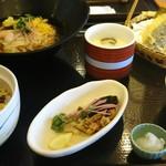 和食さと - 料理写真:うなぎチラシ彩りソウメン膳