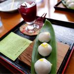 コーヒーショップ さんべ - 料理写真:みやまセット