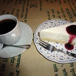 ウエストリバー - 料理写真:ケーキセット(600円)