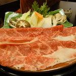 7171128 - すきやき定食の並肉