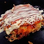 Omoni - オモニ焼き(ソースとマヨは自分でかけます)