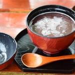 風の庵 - 料理写真:おしるこ