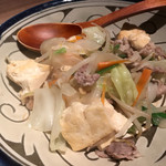 がじゅまる食堂 - 島豆腐ちゃんぷるー