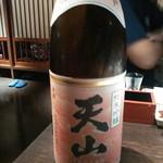 71715153 - 佐賀のお酒、「純米吟醸 天山 赤ラベル」