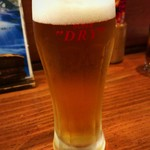 たたき亭 - 生ビール