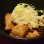 UOK - シマチョウの煮込み 赤味噌仕立て@400円