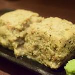 UOK - 梅肉と大葉の蒸しつくね・わさび@500円
