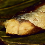 UOK - 焼魚 鯖の桜チップスモーク@400円