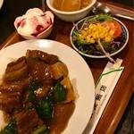 広来飯店 - 扣肉飯セット900円税込