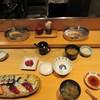 すし天ぷら あき - 料理写真:天麩羅を待つ