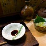 蓑笠庵 - 焼酎は徳利と鉄瓶で