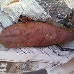 ファーマーズポケット - 料理写真:JAなめがたの「紅マサリ」の石焼き芋(200円)