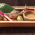 サロン ド ヒッタマグッド - 鮎の塩焼き