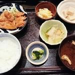 おはしキッチン - おばんさい定食  鶏の山椒焼  900円