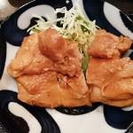 おはしキッチン - 鶏の山椒焼アップ