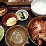 おはしキッチン - お魚定食  鯛のかぶと煮  880円