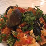 Taormina Sicilian Cuisine - 小エビとアサリのリングイネ