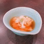 71722637 - お通しのゆし豆腐