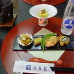 湖泉荘 - 料理写真:前菜