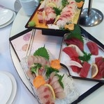 ホテル中山荘 - 料理写真:お刺身