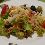 スペイン料理銀座エスペロ - 田舎風ミックスサラダ