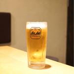 北野坂 奥 - 生ビール 500円