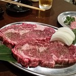 ヤキニク家。玄 - 赤身ステーキ