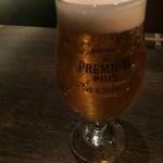 鉄板焼きgrow - プレミアムモルツ