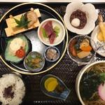北新地 銀杏 - 炊き合わせに天ぷらにお蕎麦に