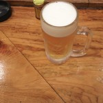寅屋 - 生ビール 500円♪