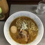 仲間 - 味噌ラーメン800円+伝説の玉子150円