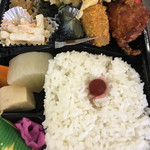 日の丸亭 - 幕の内弁当  ¥500