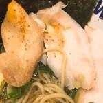 71733255 - モモ肉と鶏のチャーシューです。(2017.8 byジプシーくん)