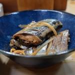 家庭料理 小川 - 秋刀魚の生姜煮