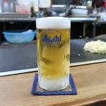 晃ちゃん - 生ビール