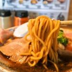 サバ6製麺所 - サバ醤油そば(麺)