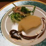 たけのこ - タケノコのステーキ