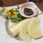 たけのこ - タケノコの刺身