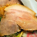 サバ6製麺所 - 中華そば(レアチャーシュー)