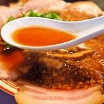 サバ6製麺所 - 中華そば(スープ)