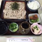 本牧亭 - 料理写真:ざるそば定食(850円)